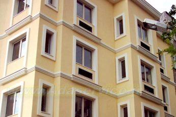 نمای بیرونی ساختمان -