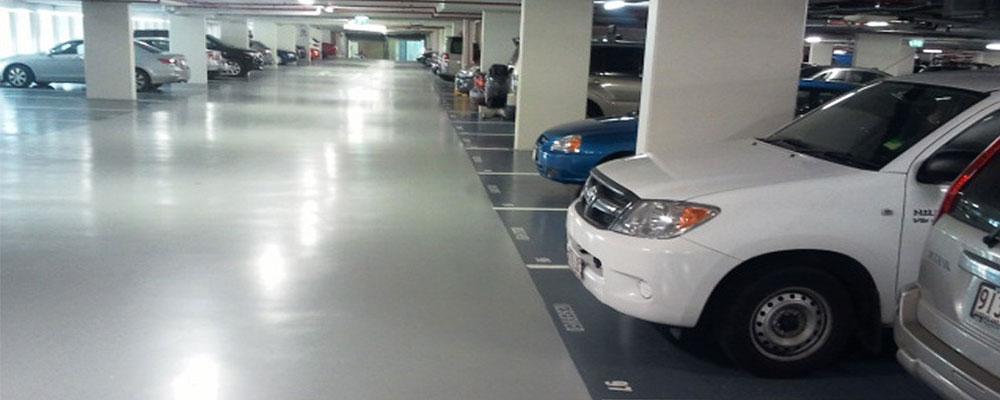 پوشش اپوکسی کف پارکینگ